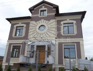 декор круглого окна