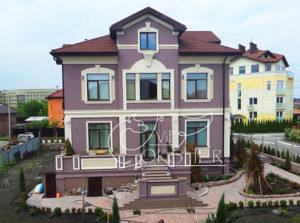 фасадный декор без трещен
