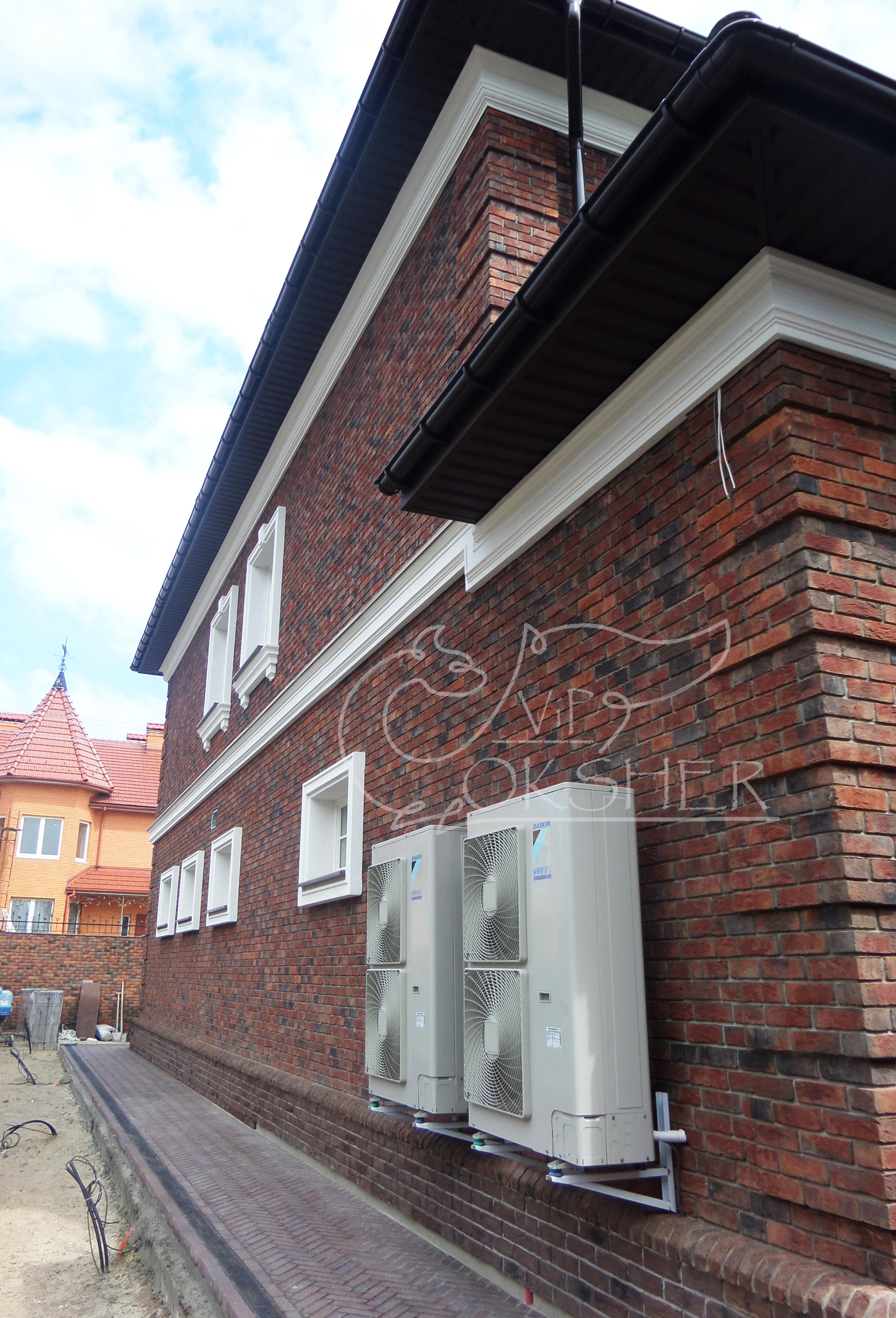 фасадный декор з пенопласта армированный сеткой вип окшер