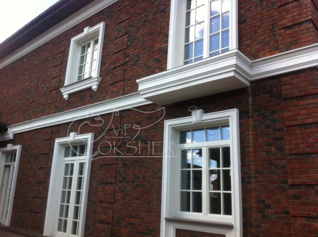 фасадный декор из пенопласта армированный сеткой вип окшер