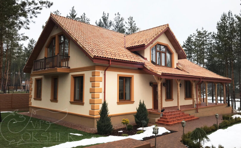 фасадный декор ф6