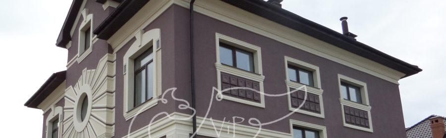 оздоблення вікон фасадним декором